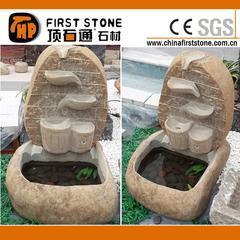 仿古自然石喷泉GAF276