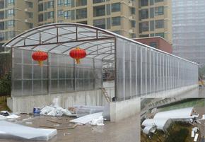 PC阳光板/温室大棚材料/屋顶采光