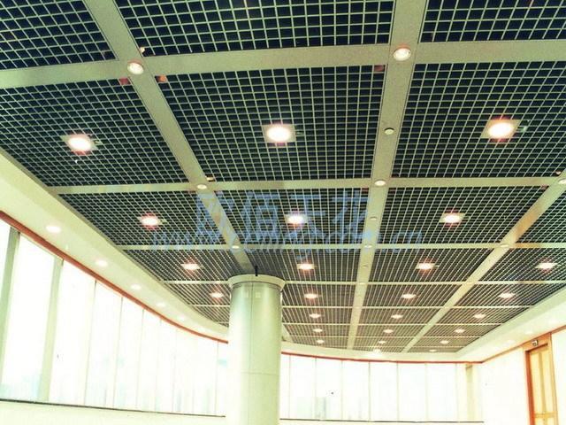 询价留言  产品名称:工程常用格珊 产品说明 普通格栅天花吊顶