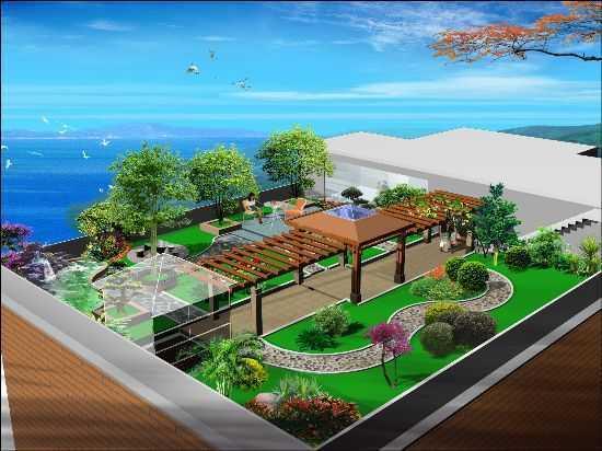 郑州屋顶绿化公司承接别墅花园和阳台花园设计施工