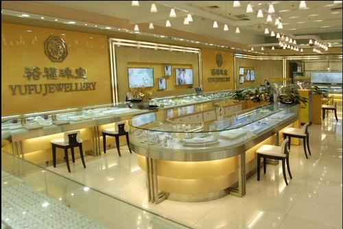 成都珠宝店装修设计/玉器店装修设计/翡翠店装修设计