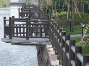 四川驰升道路桥梁水泥仿木栏杆