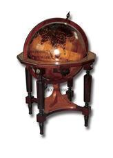 GLOBE地球仪、实木浮雕地球仪