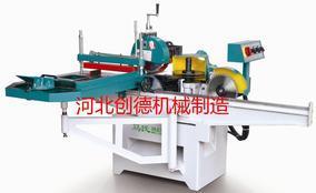 华北新型四轴圆木推台锯价格展示深圳圆木多片锯供应商机