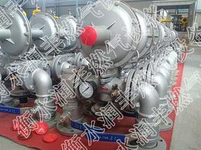 钢厂锅炉燃气调压计量柜润丰燃气设备