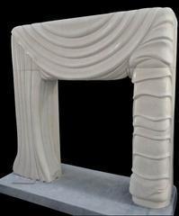 人造石窗帘形超级壁炉MFI193
