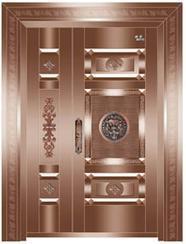 威宇工贸专业生产,销售,铜门,仿铜门
