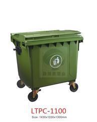 南宁户外城乡可挂车环卫垃圾桶