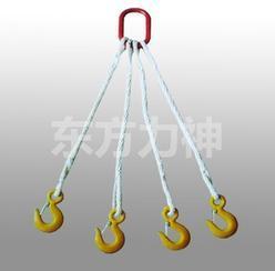 组合式尼龙吊装绳  尼龙绳的安全使用须知 四叉尼龙绳