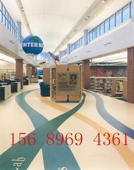 济南LG写字楼办公室塑胶地板
