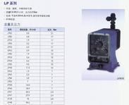 柏斯菲达电磁隔膜计量泵(LP系列)