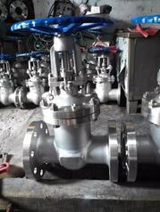 Z41W-25P不锈钢法兰闸阀 硬密封闸阀 蒸汽闸阀