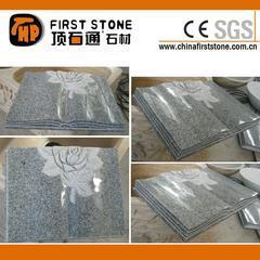 灰色花岗岩墓碑石,石碑石GME113