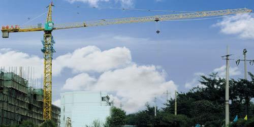 山东大汉塔机主要生产大汉牌qtz25塔吊,qtz31.