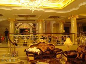 铜艺楼梯 上海别墅楼梯 铂品楼梯
