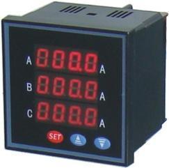 SMB-72F-AA,SMB-72F-AV,SMB-72F-DA单相直流电流表