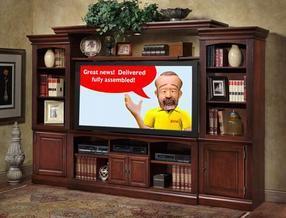 深圳艾可米家居客厅家具实木电视柜组合电视机柜影视柜