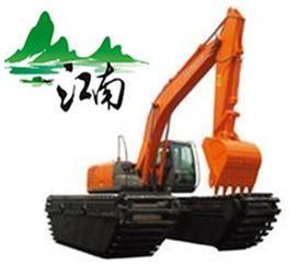2017新品江南水陆两用挖掘机出租