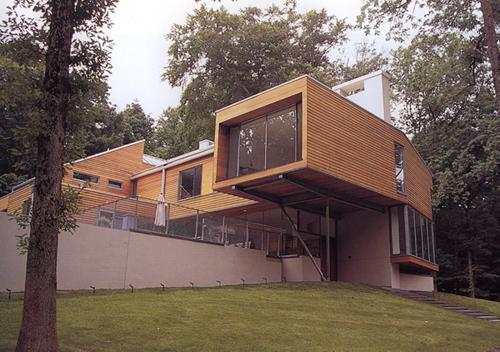 别墅与庭院之间,缺的就是这种防腐木材料!