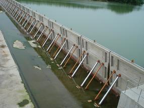 液压坝长126m高5米