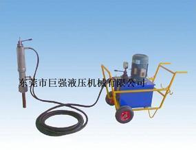 挖桩机械液压分裂机