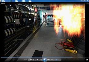 火灾现场模拟复原分析系统