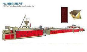 木塑生产线 Pvc木塑生产线