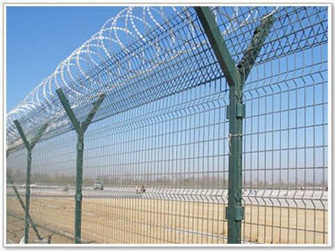 机场围网,飞机场围网,y型防护网-创翔