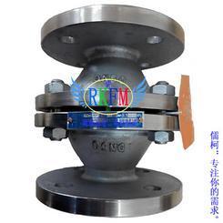 不锈钢管道阻火器,GZW-I,管道阻燃器