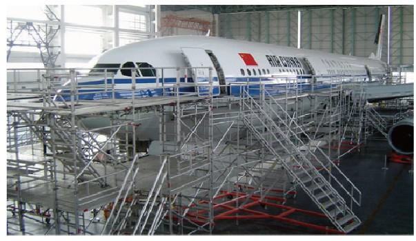 通用飞机工作梯