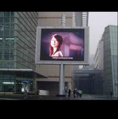 室外LED广告墙
