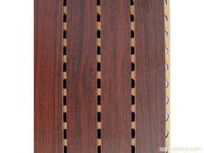 体育馆槽木吸音板