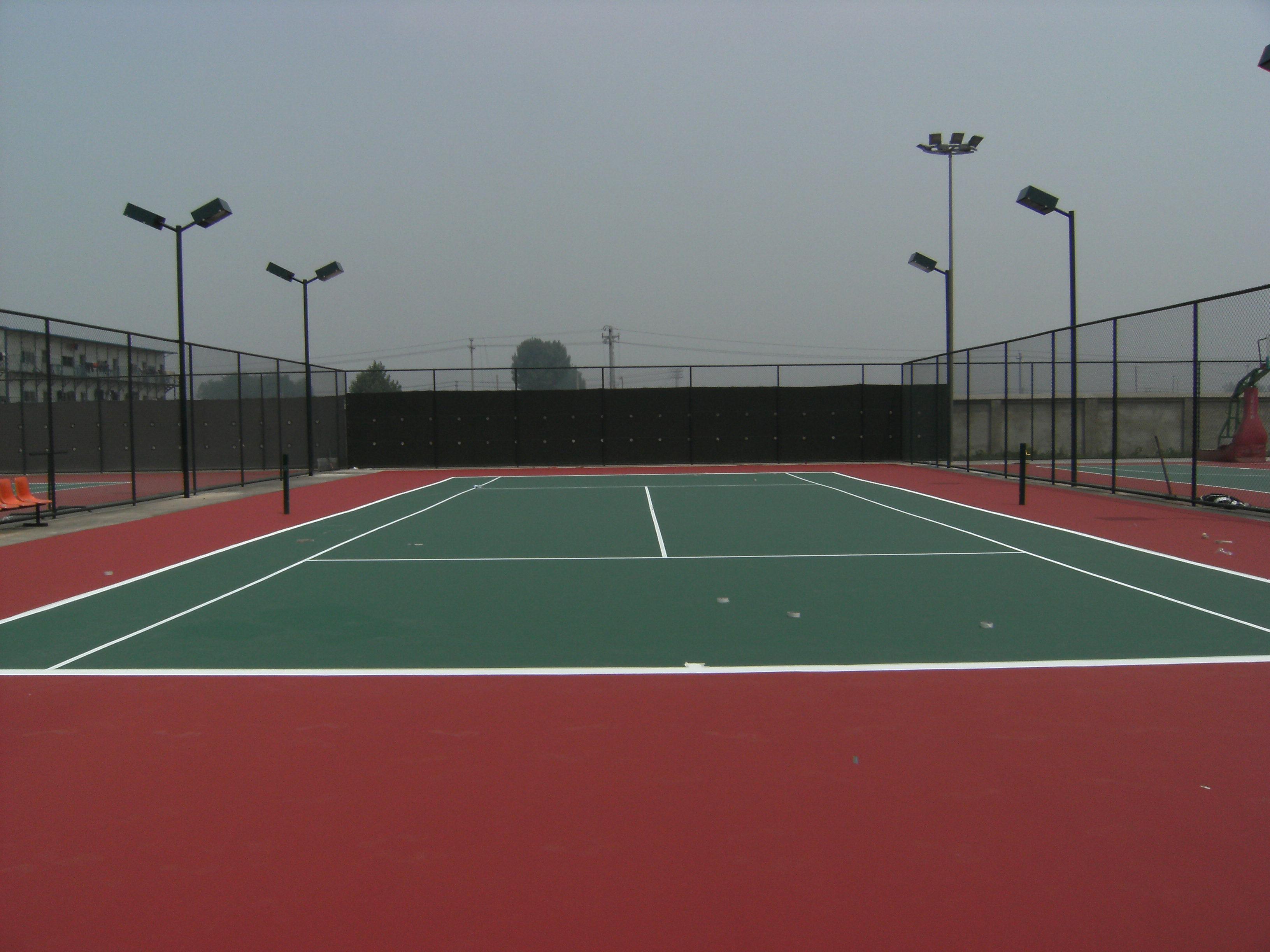 网球场_公园网球场摄影图__体育运动_文化艺术_摄影