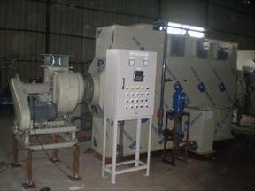 昆山格瑞雅有机废气处理设备酸雾洗涤塔