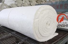 陶瓷纤维毯对管道保温施工的方法