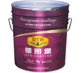 20KG德图堡净味型水性无机内墙涂料(零甲醛、零VOC、零防腐剂、防霉剂)