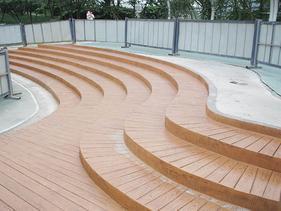 园林美化仿木地板