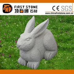 花岗岩兔子雕刻GAB557