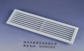 ABS线型散流器  0度/30度线条出风口