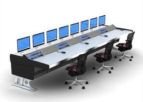 甘肃调度控制台,兰州视频监控操作台,兰州监控控制台