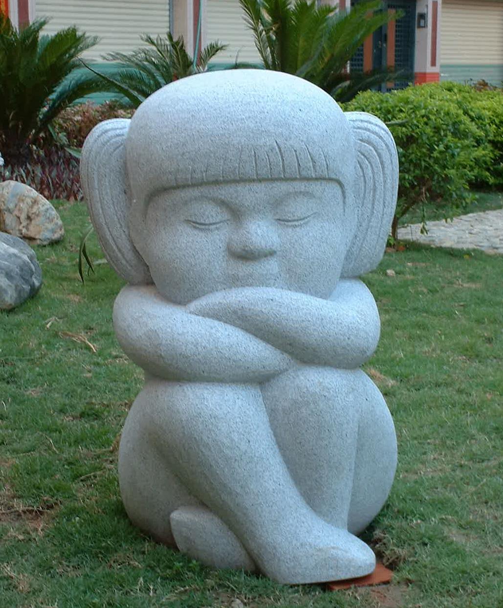 雕塑小品(三)_创意景观小品雕塑