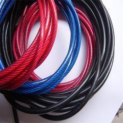 304不锈钢丝绳加工锌合金 成都304L包胶钢绳