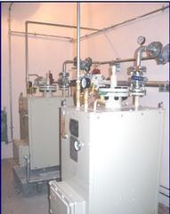 中邦气化器LPG100公斤带电控箱酒店工厂专用