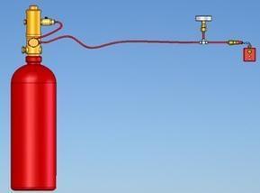 探火管式自动灭火装置 火探管式灭火装置