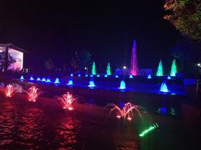 音乐喷泉项目