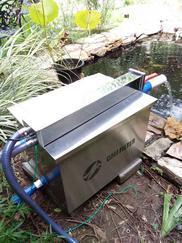 卡利净 5000庭院观赏鱼池自行排污过滤器