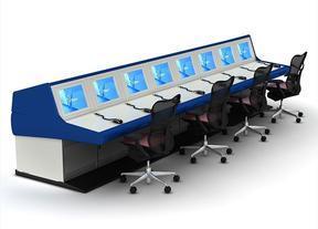 调度监控操作台交通监控控制台