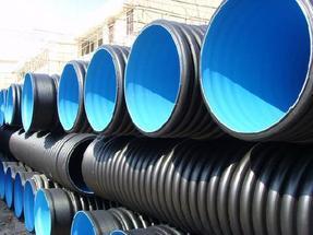 排污管,大口径HDPE双壁波纹管