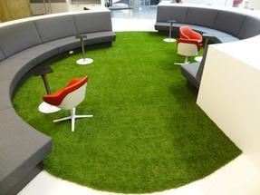 人造草景观工程,人造草坪