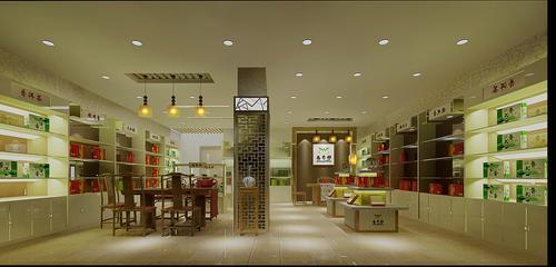 成都最好茶叶专卖店装修设计公司/茶叶店装修设计要点